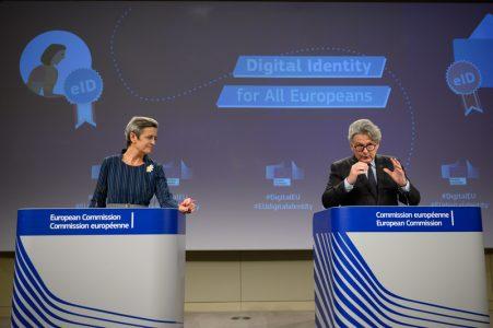 کیف هویت دیجیتال اروپا