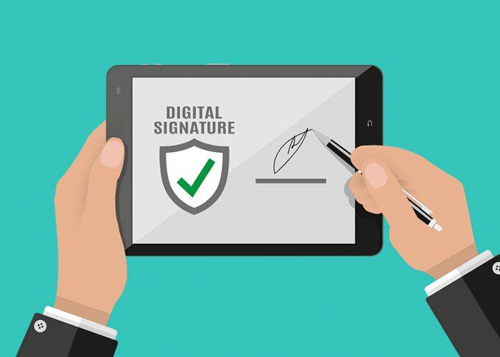 electronic_signature_vs_شdigital_signature